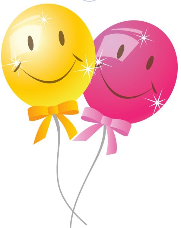 Разноцветные воздушные шары